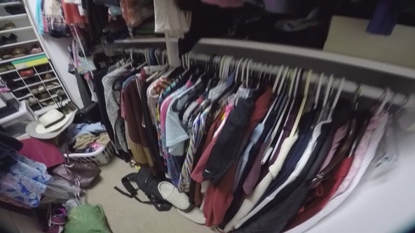 Maurielle gets tips on cleaning out her closet