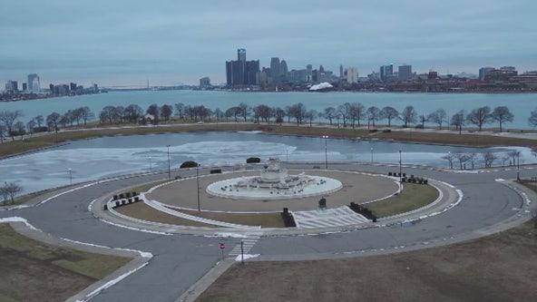 Drone Zone: The Belle Isle Fountain