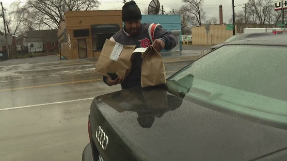 Delivery drivers try to make money while staying safe amid pandemic