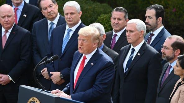 Trump declares national emergency over coronavirus, announces public-private partnership on testing