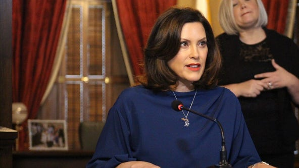 Gov. Gretchen Whitmer announced extension of Stay Home, Stay Safe order