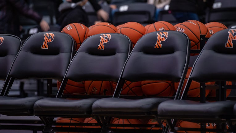 GETTY Princeton Basketball Bench