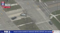 Police chase through Oakland Co. ends with suspects' crash