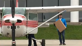 Pontiac flight school ships protective face shields to medical workers