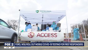 Ford, Wayne State University rolling out new mobile COVID-19 testing units
