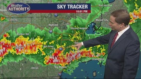 Severe weather roll through SE Michigan