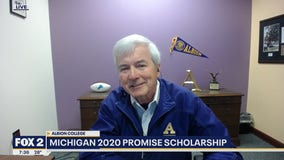 Albion College president breaks down Michigan 2020 Promise scholarship available to next year's students