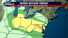 Not a washout, but some showers and storms come back into the forecast. Strong or severe storms are possible tonight.