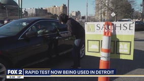 Detroit putting rapid coronavirus tests to good use, screening 150 first responders last weekend