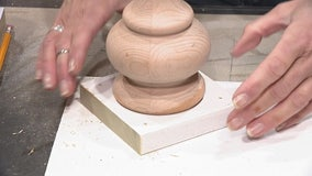 How to add feet to an old piece of furniture