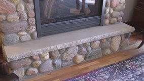 How to put a natural cut edge on a limestone block