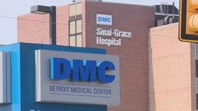 Detroit police seeking information after newborn left with stranger outside Sinai Grace Hospital