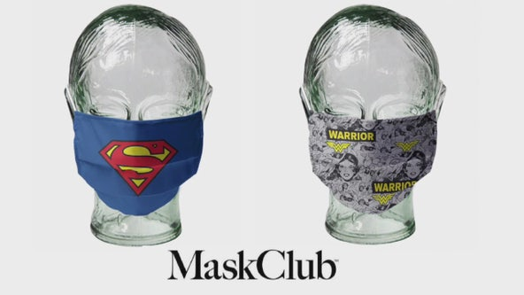 Mask Club donating mask with personality to those in need