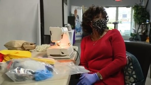 Roseville church making masks for essential workers for Easter giveaway