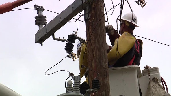 Over 127,000 DTE customers without power in Metro Detroit