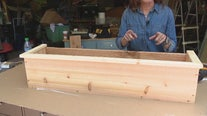Building window flower boxes with Jill of All Trades