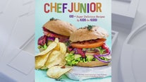 Chef Junior cookbook for simple and healthy snacks to make with your kids