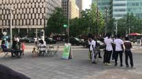Detroit police detain 40 downtown after social media post