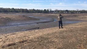 At 21.5 billion gallons, Wixom Lake is twice as big as Oakland County's largest lake - it emptied in one hour