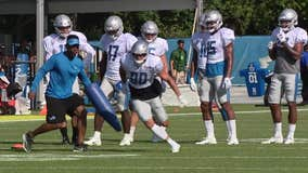 WATCH - Lions wide receiver Danny Amendola on his offseason workouts and his new hobby