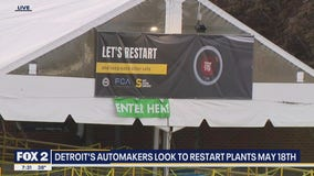 Restart dates for Detroit automakers coming soon