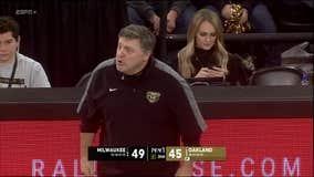 WATCH - Oakland coach Greg Kampe's new way of recruiting