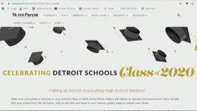 Graduating seniors of Detroit high schools to get virtual salute