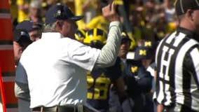 WATCH - Michigan defensive coordinator Don Brown talks getting his defense corrected