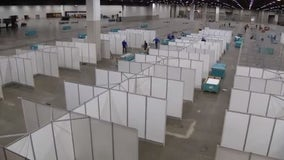 Detroit TCF Center field hospital shuts down but will be ready if needed