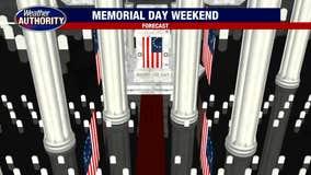 Pop Up Memorial Day Weekend Storms