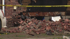 Woman survives house explosion in Birmingham