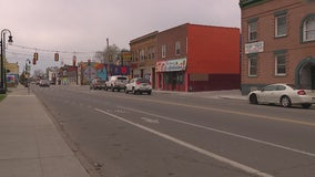 Empty streets lined Detroit's Mexicantown on Cinco de Mayo