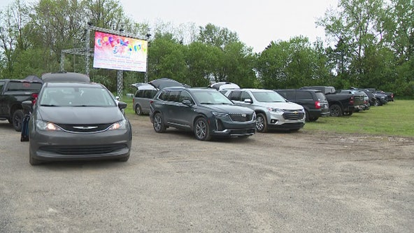 Drive in movies at Canterbury Village are open for business