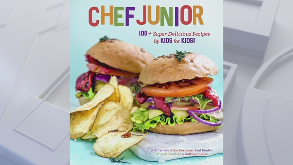 Chef Junior cook book for simple and healthy snacks to make with your kids