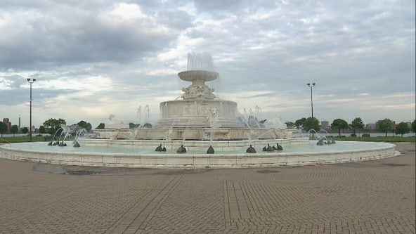 With Belle Isle Fountain turning back on, Detroit Grand Prix goes virtual