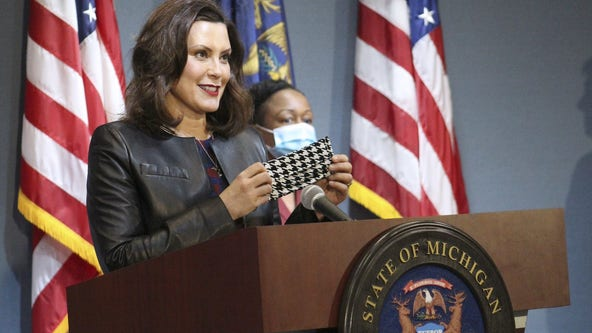 Gov. Whitmer signs executive order requiring masks at child-care centers and camps