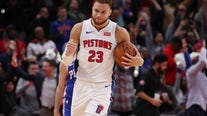 WATCH - Pistons Forward Blake Griffin on His Road Back From Injury and the Direction of the Team