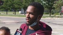 Detroit protester detained says he had seizure while restrained