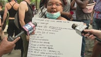 Protesters on 7th day of demonstration against police brutality unite for march