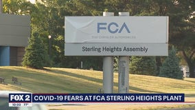 COVID-19 fears at FCA Sterling Heights Plant