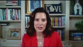 Gov. Gretchen Whitmer talks about statue removal, racial injustice issues