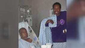 Father and son celebrate 10 year organ donation anniversary