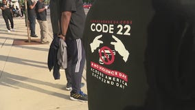 Code 22 protests held with 22 minutes of silence denouncing police brutality, criminal violence