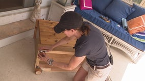 Jill of All Trades shows how to install furniture feet