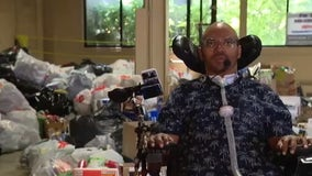 Quadriplegic man's charity is taking donations of your returnable cans, bottles to help others