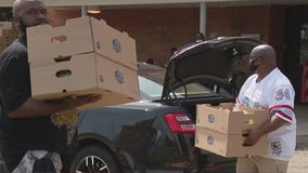 Farms to Families Food Box giveaway to those in need held every Friday in Southfield