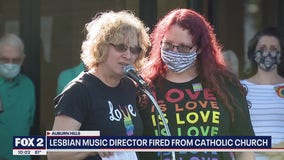 Lesbian music director fired from Auburn Hills Catholic Church