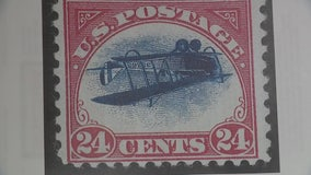 Rare 'Inverted Jenny' stamp owned by metro Detroit attorney hitting the auction block