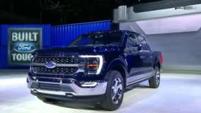 Newly revamped Ford F-150 comes with gas-electric engine, internet connectivity, and new interior