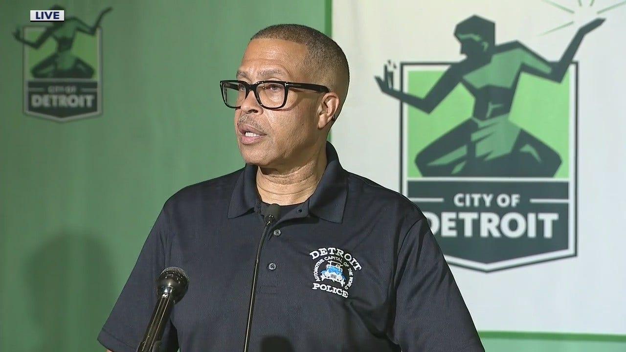 Full Detroit Police Press Conference On Officer Involved